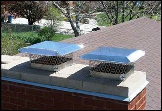 Chimney Cap installation in Ann Arbor